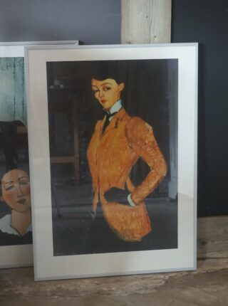 Kunstdruk van Modigliani